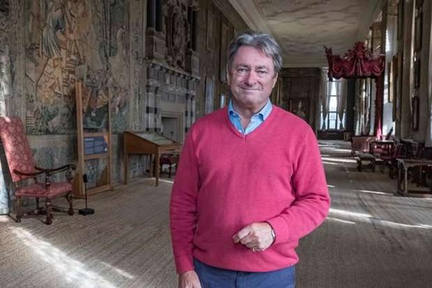 Alan Titchmarsh visit Hardwick Hall
