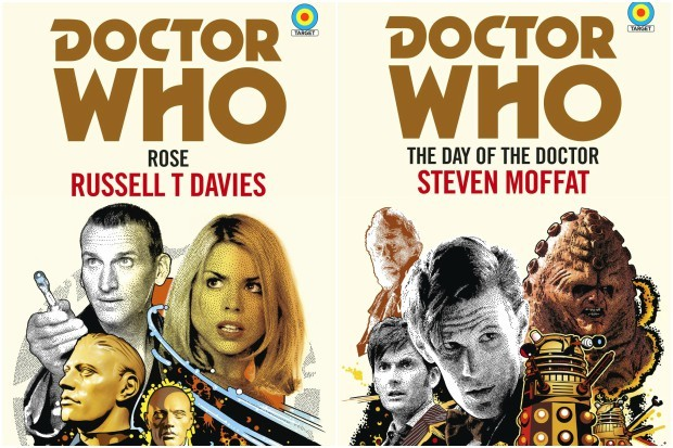 Russell T Davies and Steven Moffat's Target novels, Rose and The Day of the Doctor (BBC Books, HF)