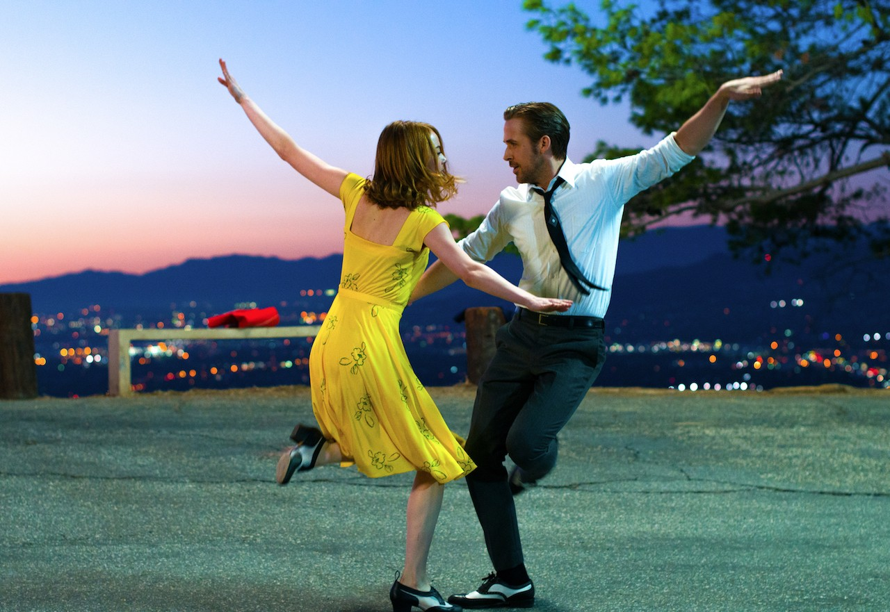 Ryan Gosling as Sebastian Wilder, Emma Stone as Mia Dolan (SEAC, JG)