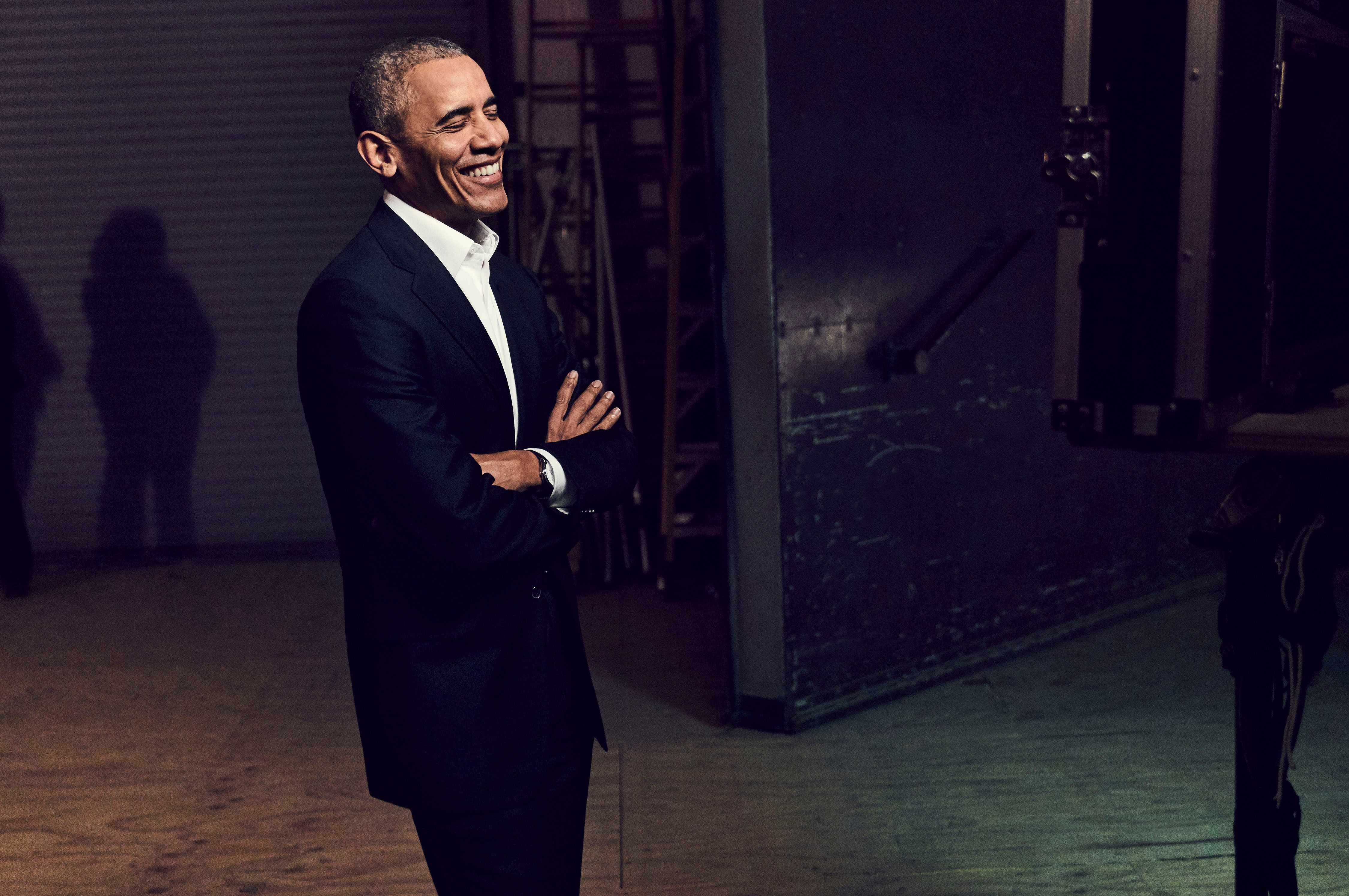 Barack Obama in Netflix talk show My Next Guest Needs No Introduction with David Letterman (Netflix, JG)