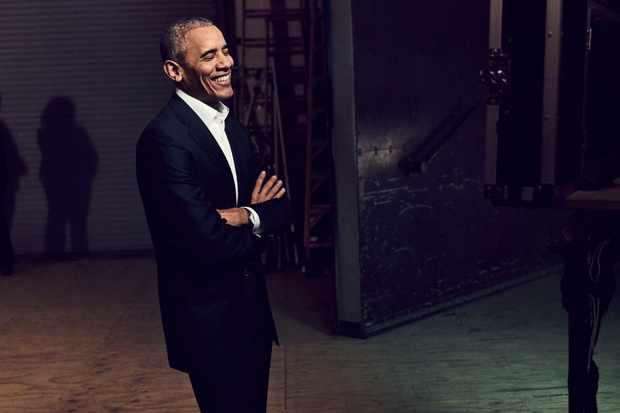 Barack Obama in Netflix talk show My Next Guest Needs No Introduction with David Letterman (Netflix, JG)