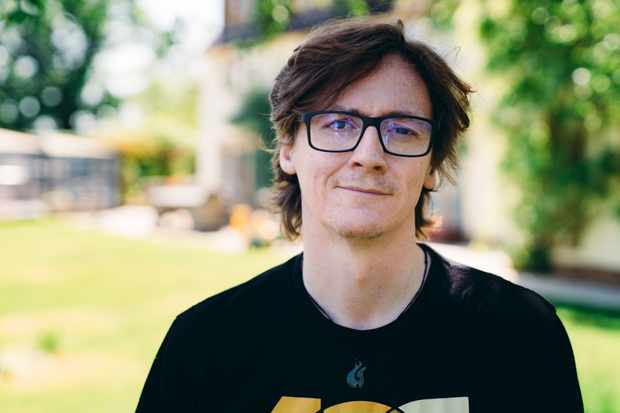Programme Name: Pilgrimage: The Road to Santiago - TX: n/a - Episode: n/a (No. n/a) - Picture Shows:  Ed Byrne - (C) CTVC - Photographer: Toby Lloyd