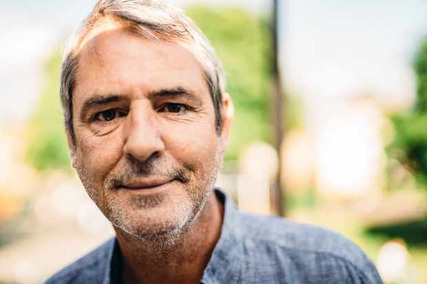 Programme Name: Pilgrimage: The Road to Santiago - TX: n/a - Episode: n/a (No. n/a) - Picture Shows:  Neil Morrissey - (C) CTVC - Photographer: Toby Lloyd  BBC, TL