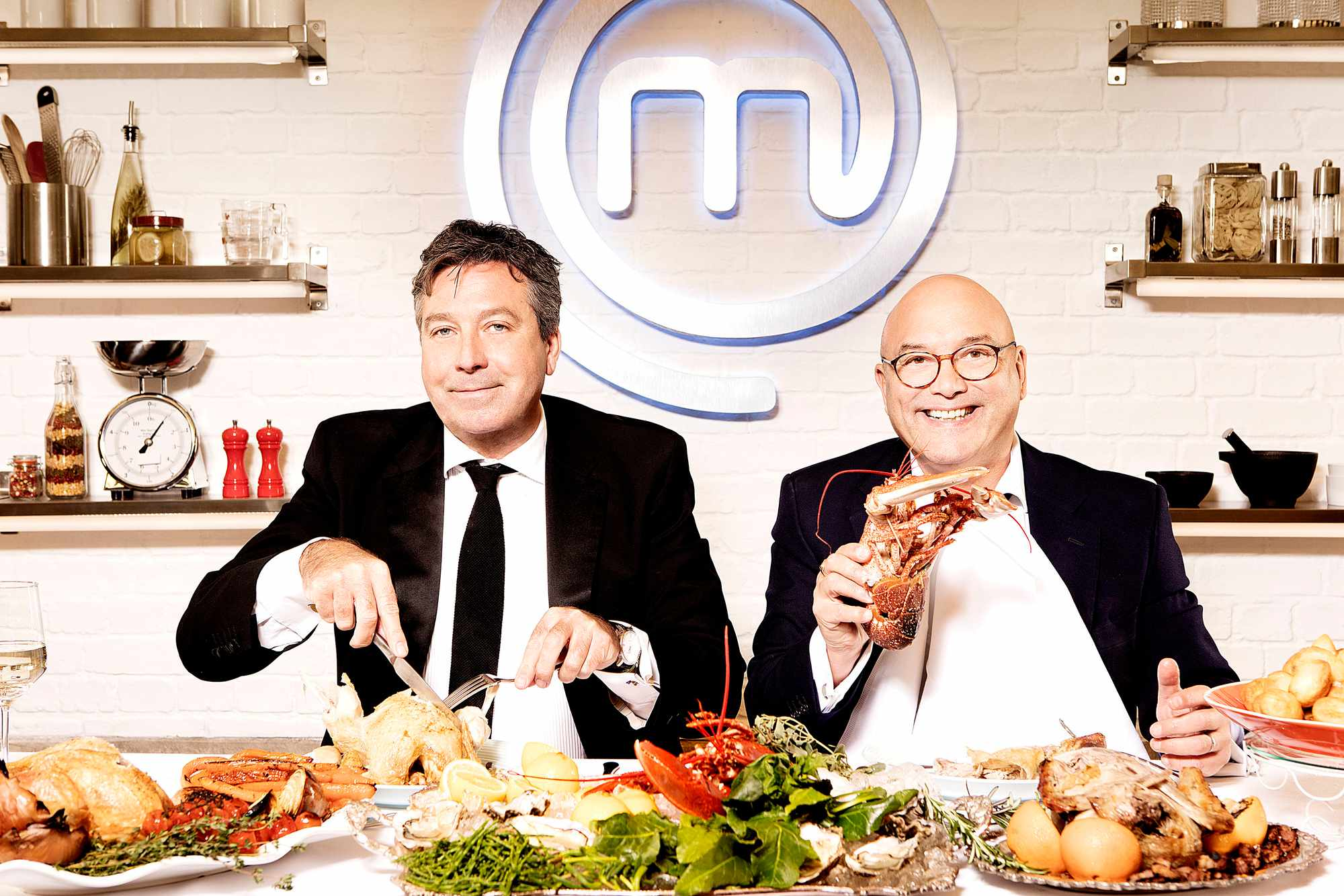 John Torode and Gregg Wallace on MasterChef