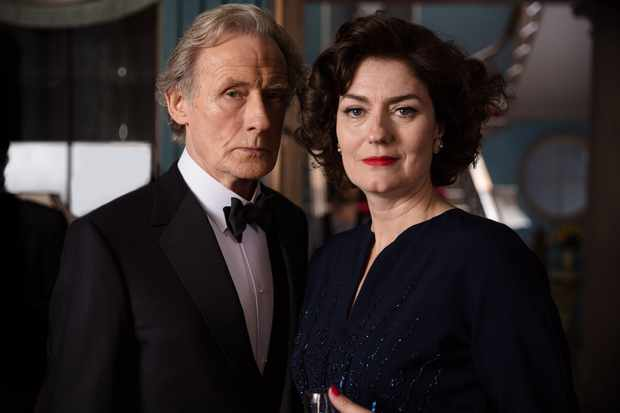 Bill Nighy and Anna Chancellor, Ordeal by Innocence (BBC, EH)