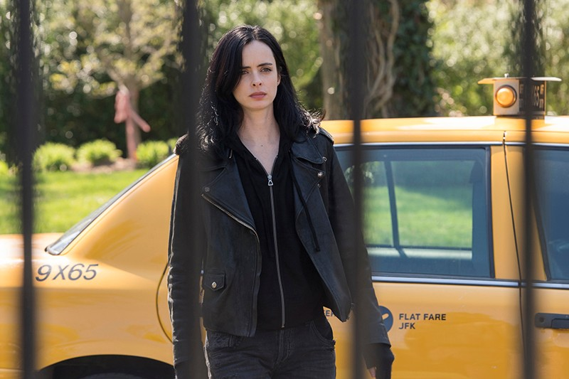 Krysten Ritter in Marvel's Jessica Jones (Netflix, HF)