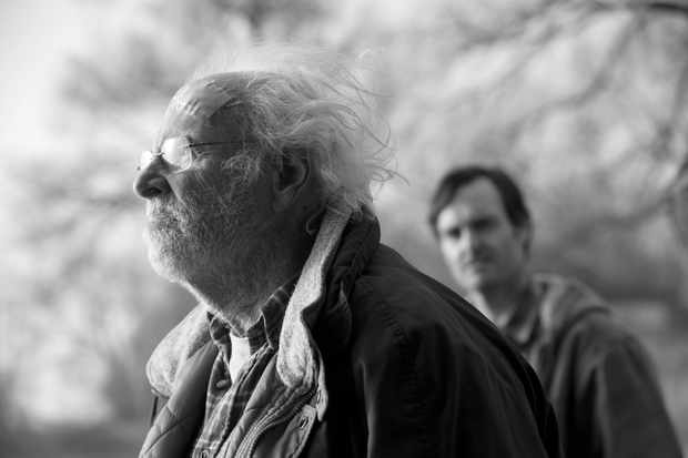 Bruce Dern is Woody Grant and Will Forte is David Grant in NEBRASKA, from Paramount Vantage in association with FilmNation Entertainment, Blue Lake Media Fund and Echo Lake Entertainment. NEB-07069BW