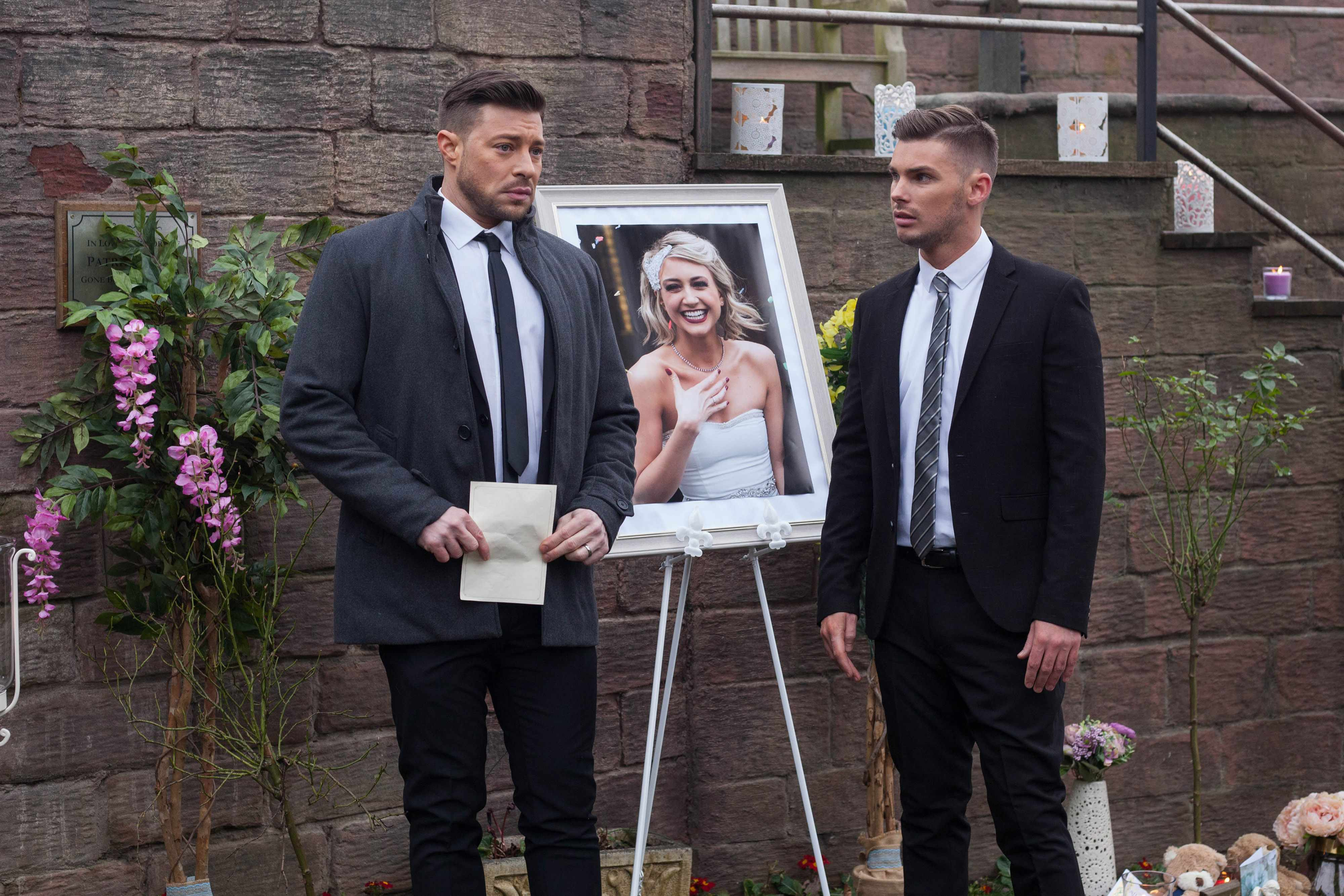 LEELA EXPOSES STE & RYAN AT AMY'S MEMORIAL EMBARGOED UNTIL 20TH MARCH