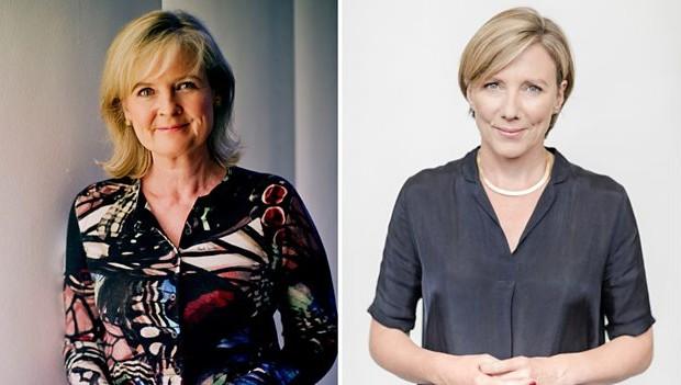 Martha Kearney and Sarah Montague (BBC, HF)