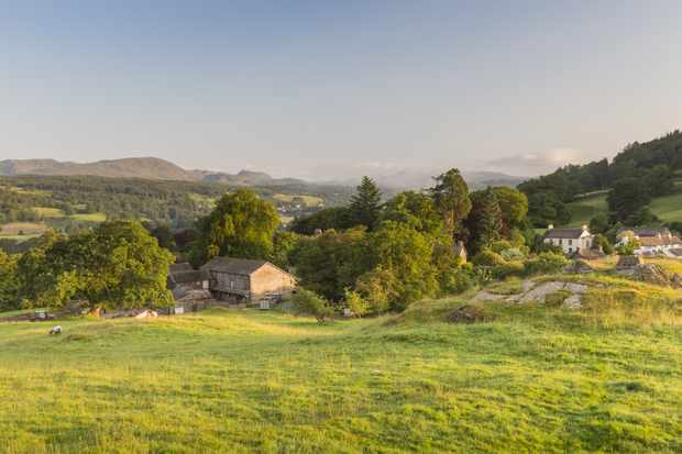 A view of Hill Top, near Sawrey, Cumbria, home of Beatrix Potter. Hill Top was one of many purchases Beatrix made in the area, but this was the one she would treasure the most.