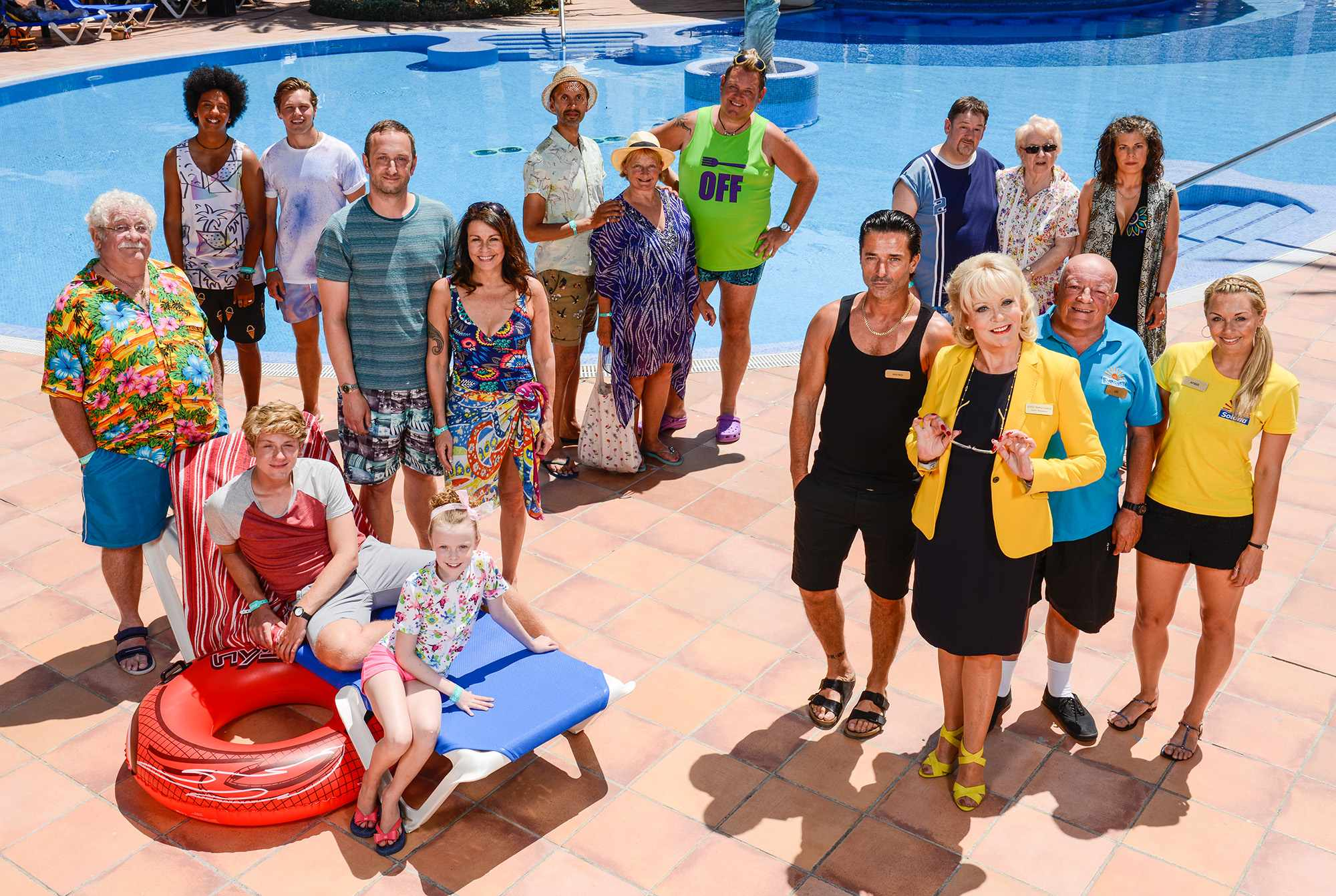 Benidorm cast photo