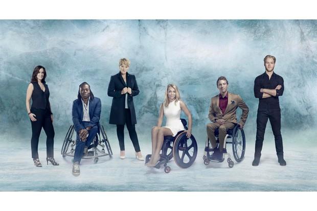Winter Paralympic Games 2018: Lee McKenzie, Ade Adepitan, Clare Balding, Sophie Morgan, Arthur Williams and Jonnie Peacock.