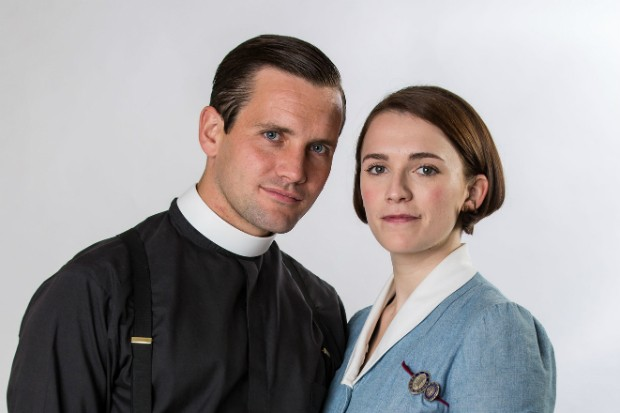 Call the Midwife - Jack Ashton and Charlotte Ritchie