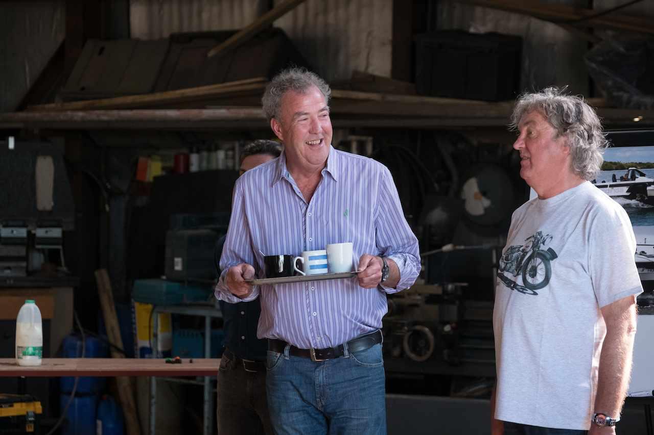 Jeremy Clarkson, James May, The Grand Tour season 2 (Amazon, JG)