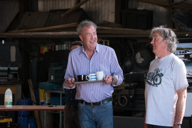 Jeremy Clarkson, James May, The Grand Tour season 2 (Amazon, JG)