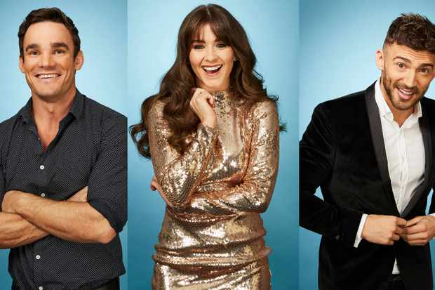 Dancing on Ice Finalists 2018: Max Evans, Brooke Vincent, Jake Quickenden