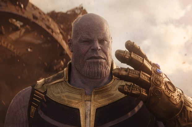 Josh Brolin as Thanos in Avengers: Infinity War (Marvel, HF)