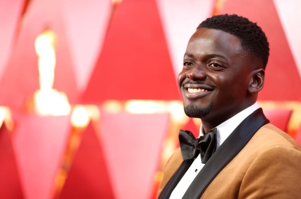 Daniel Kaluuya at the Oscars