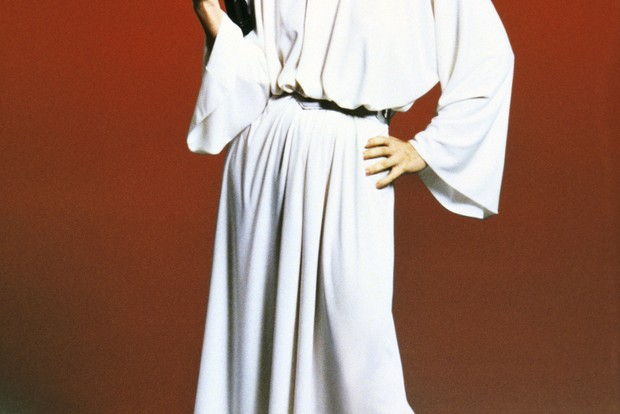Carrie Fisher in Star Wars Episode IV: A New Hope