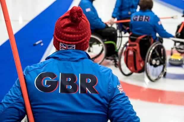 Winter Paralympic Games 2018: GB Curling Team (Channel 4, JG)