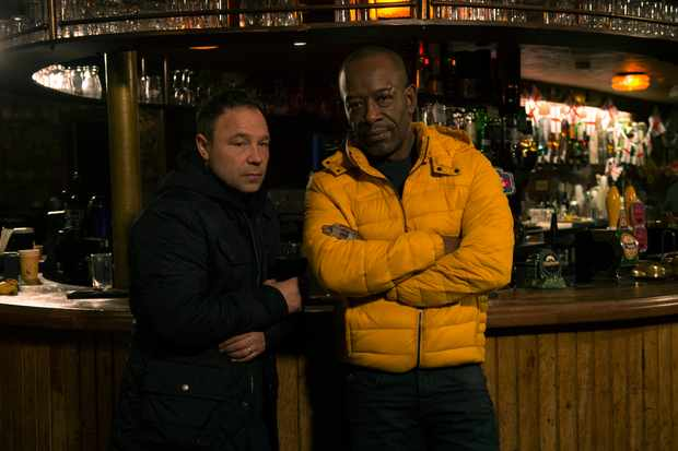 Stephen Graham and Lennie James in Save Me (Sky, EH)