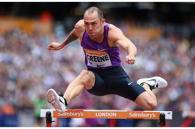 during day two of the Sainsbury's Anniversary Games at The Stadium - Queen Elizabeth Olympic Park on July 25, 2015 in London, England.