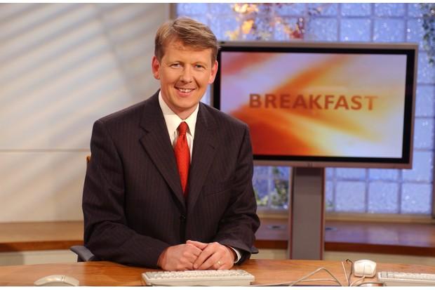 Bill Turnbull on BBC Breakfast in 2002