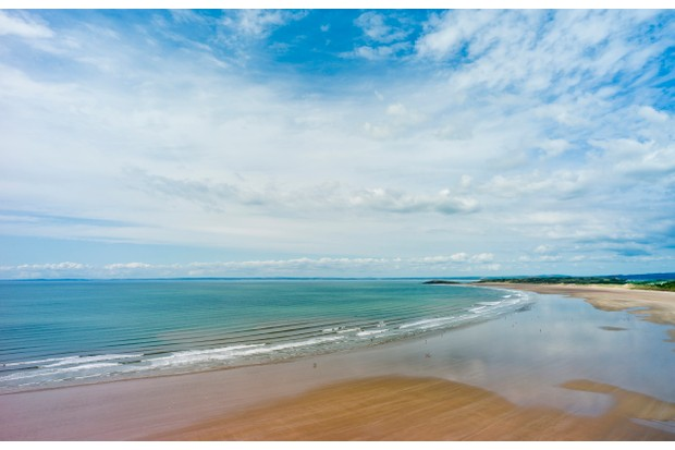 Rhossili Beach on the Gower Peninsula in South Wales