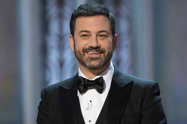 THE OSCARS(r) - The 89th Oscars(r)  broadcasts live on Oscar(r) SUNDAY, FEBRUARY 26, 2017, on the ABC Television Network. (Eddy Chen/ABC via Getty Images) JIMMY KIMMEL  Getty, TK