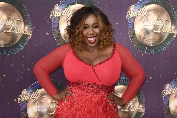 LONDON, ENGLAND - AUGUST 28: Chizzy Akudolu attends the 'Strictly Come Dancing 2017' red carpet launch at The Piazza on August 28, 2017 in London, England.  (Photo by Gareth Cattermole/Getty Images)  Getty, TL