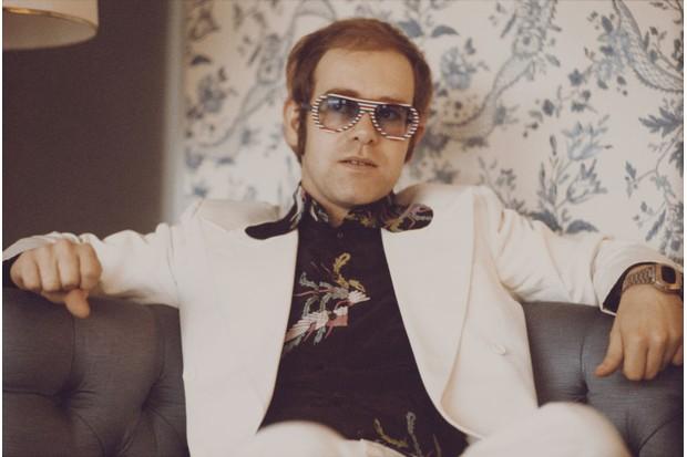 Young Elton John
