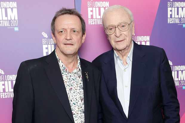 Director David Batty and Michael Caine attend a screening of My Generation (Getty, EH)