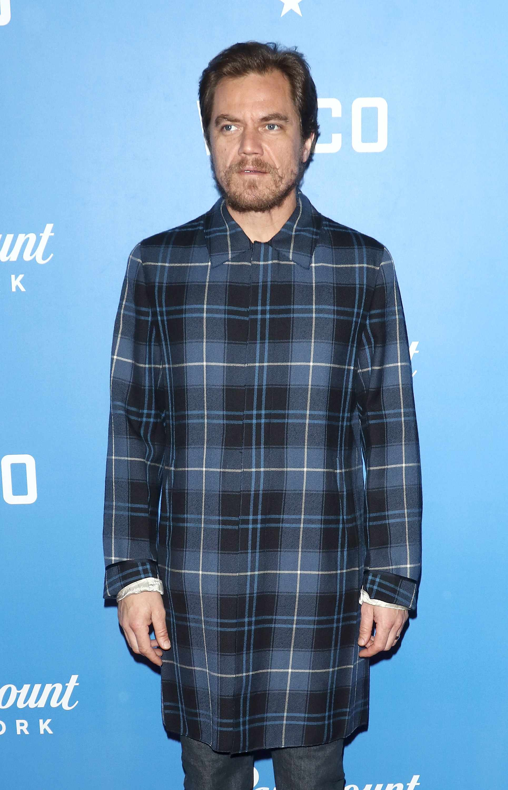 """NEW YORK, NY - JANUARY 22:  Actor Michael Shannon attends the """"Waco"""" world premiere at Jazz at Lincoln Center on January 22, 2018 in New York City.  (Photo by Jim Spellman/WireImage)  Getty, TL"""