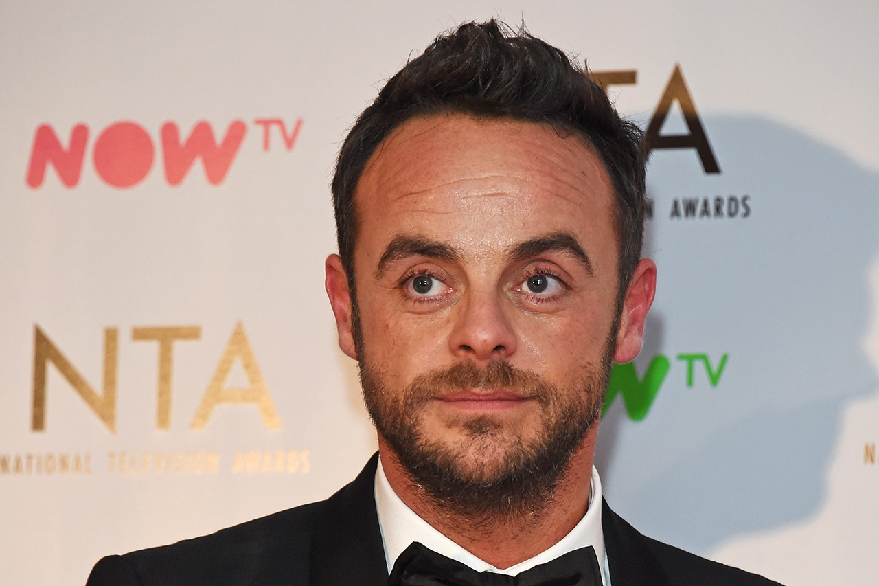 Ant and Dec's Saturday Night Takeaway presenter Ant McPartlin (Getty, JG)