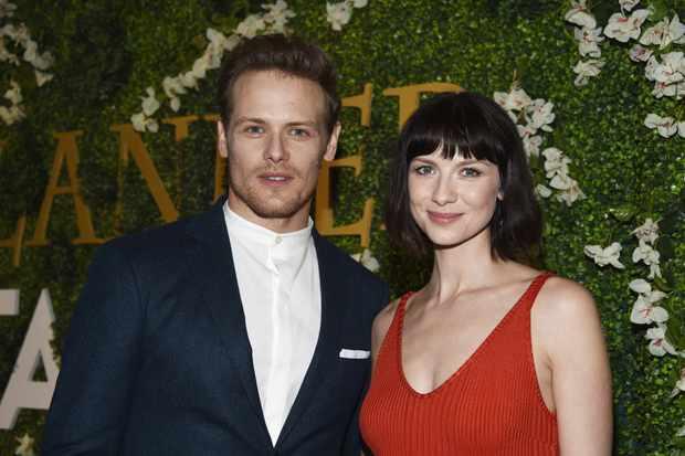 Outlander's Sam Heughan and Caitriona Balfe