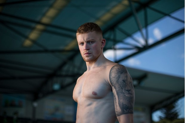 BRISBANE, AUSTRALIA - MARCH 28: Adam Peaty poses during a Team England media opportunity ahead of the 2018 Gold Coast Commonwealth Games, at Somerville High School on March 28, 2018 in Brisbane, Australia. (Photo by Mark Metcalfe/Getty Images)