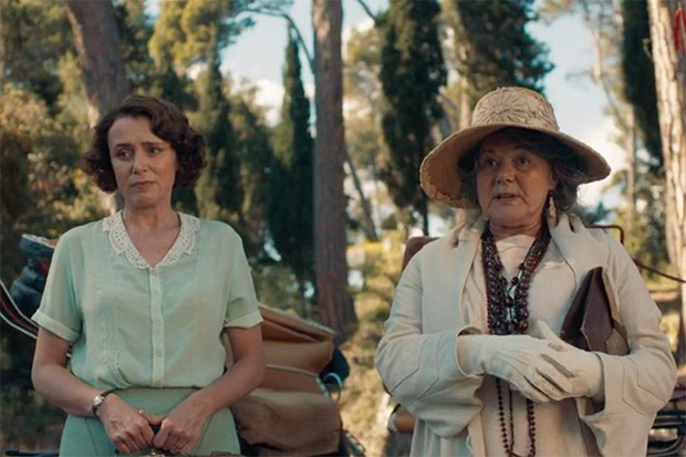 Great aunt Hermione - The Durrells