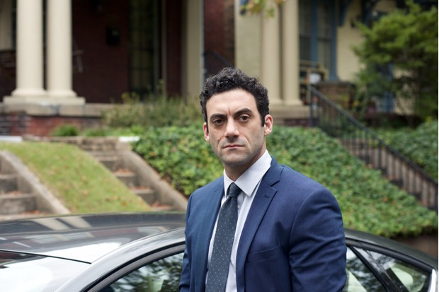 Morgan Spector as Dante Allen in Homeland (Channel 4, EH)