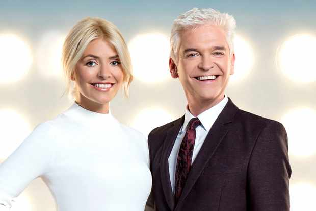 Holly Willoughby and Phillip Schofield on Dancing on Ice