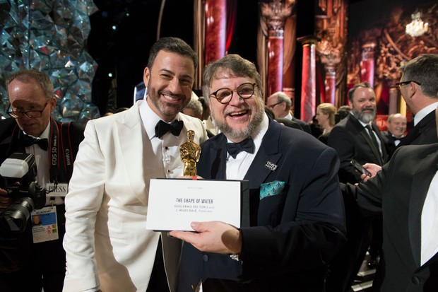 Jimmy Kimmel hosted the Oscars