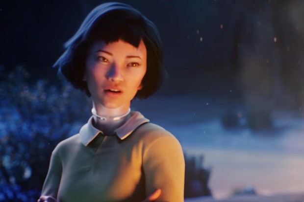 Haruka Abe as Tippi in Kiss Me First (Channel 4, HF)
