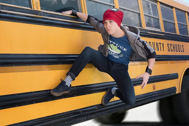 Tom Holland as Spider-Man/Peter Parker in Avengers: Infinity War (Marvel, HF)