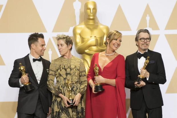 Oscars winners 2018