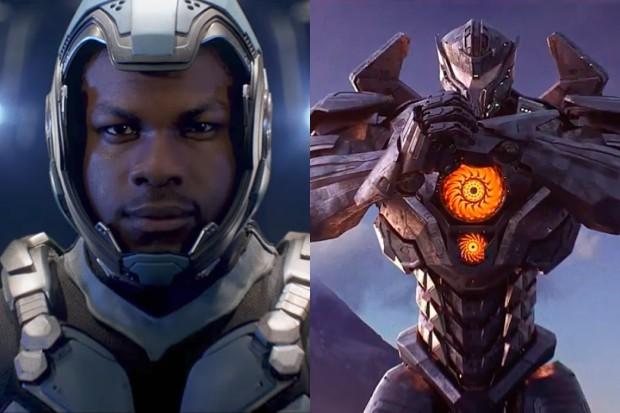 John Boyega as Jake Pentecost in Pacific Rim: Uprising (Universal, HF)