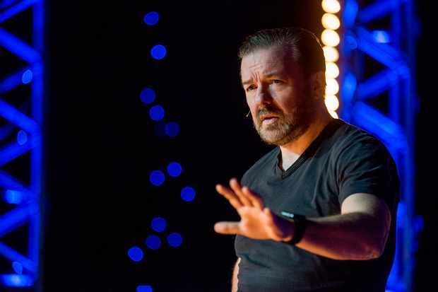 Ricky Gervais new Netflix stand-up show Humanity (Netflix, JG)
