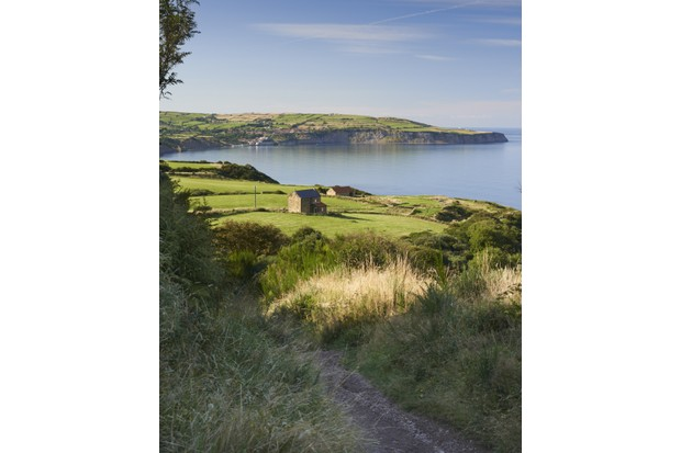 A view over Robin Hood's Bay, North Yorkshire.