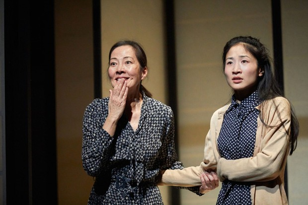 Rosalind Chao and Kae Alexander Photo: Mark Douet