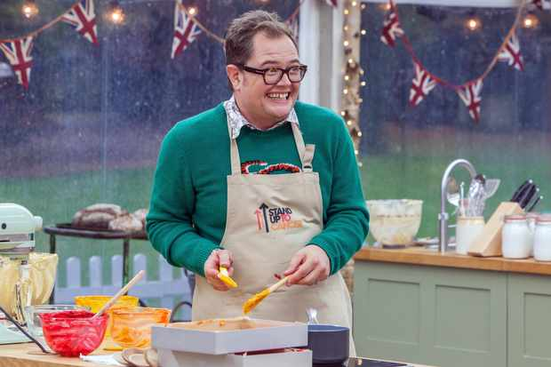 Alan Carr - THE GREAT CELEBRITY BAKE OFF FOR STAND UP TO CANCER