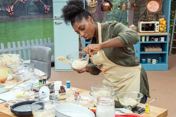 Kadeena Cox - THE GREAT CELEBRITY BAKE OFF FOR STAND UP TO CANCER