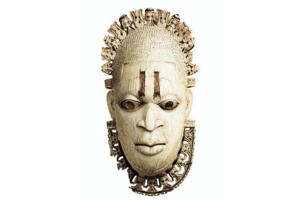 Benin ivory mask of Queen Idris (Alamy from RT mag, EH)